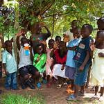 OUtside KISS office Kasambya